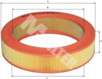 Фильтр воздушный RENAULT (пр-во M-Filter) в интернет магазине www.partlider.com