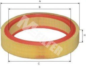 Фильтр воздушный RENAULT CLIO (пр-во M-filter)                                                        арт. A117