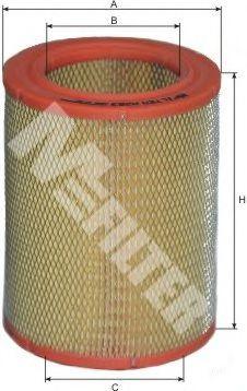Фильтр воздушный CITROEN, PEUGEOT (пр-во M-filter)                                                    арт. A263