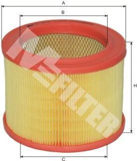 Фильтр воздушный CITROEN ZX (пр-во M-filter)                                                          арт. A289