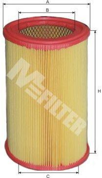 Фильтр воздушный CITROEN AX/ PEUGEOT 106 (пр-во M-Filter)                                             арт. A500