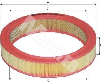 Фильтр воздушный FIAT (пр-во M-Filter) в интернет магазине www.partlider.com