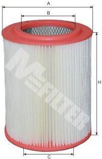 Фильтр воздушный HONDA CRV 2.4, 2.5, 2.8 (пр-во M-Filter)                                             арт. A565