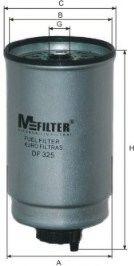 Фильтр топливный MFILTER DF325