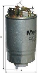 Фильтр топливный MFILTER DF327