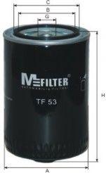 Фильтр масляный MFILTER TF53