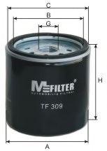 Фильтр масляный FORD TRANSIT (пр-во M-Filter)                                                         арт. TF309