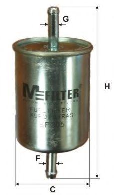 Фильтр топл. BMW, OPEL, SKODA (пр-во M-filter)                                                        арт. BF305