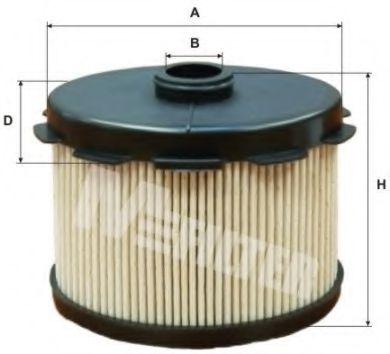 Фильтр топл. CITROEN, PEUGEOT (пр-во M-filter)                                                        арт. DE3117