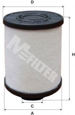 Фильтр топл. CITROEN, OPEL, CHEVROLET (пр-во M-filter)                                                арт. DE3118