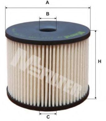 Фильтр топлива CITROEN/PEUGEOT HDI 8/00- (SIEMENS) MFILTER DE3119