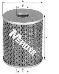 Фильтр топл. CITROEN, PEUGEOT, RENAULT (пр-во M-filter)                                               арт. DE688