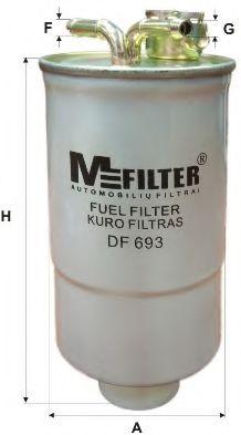 Фильтр топливный MFILTER DF693