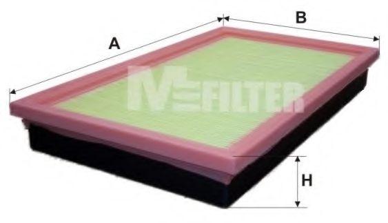 Фильтр воздушный OPEL (пр-во M-filter)                                                                арт. K168