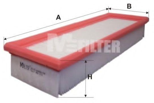 Фильтр воздушный PEUGEOT (пр-во M-filter)                                                             арт. K217