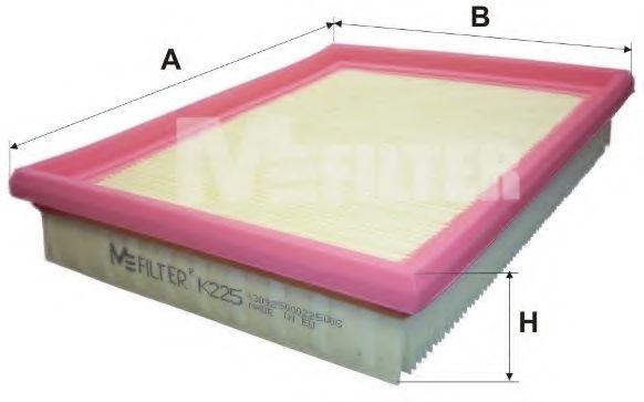 Фильтры прочие Фильтр воздушный OPEL (пр-во M-filter)  арт. K225