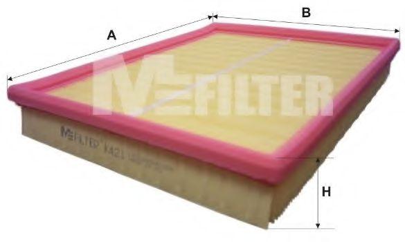 Фильтр воздушный MFILTER K421