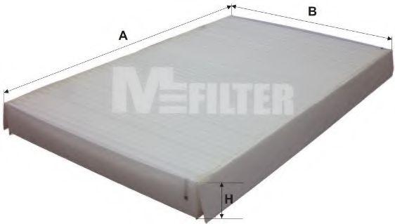 Фильтр салона CITROEN C3, PEUGEOT 307 (пр-во M-Filter)                                               MFILTER K929