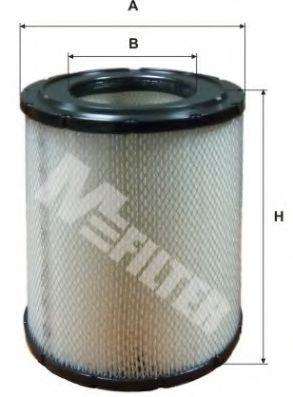 Фильтр воздушный BOGDAN A-Series (пр-во WIX-Filtron)                                                 MFILTER арт. A510