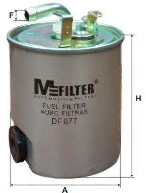 Фильтр топл. MB SPRINTER, VITO (пр-во M-Filter)                                                       арт. DF677