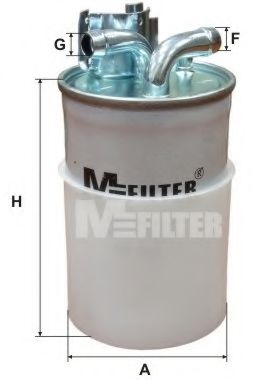 Фильтр топливный MFILTER DF692