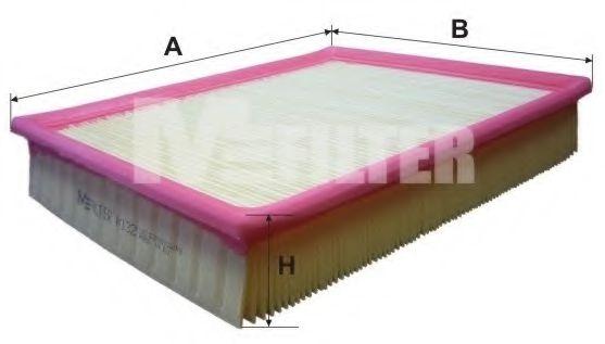 Фильтр воздушный FORD TRANSIT (пр-во M-filter)                                                        арт. K132