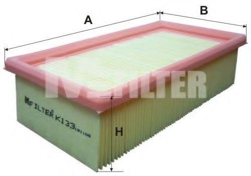 Фильтры прочие Фильтр воздушный OPEL (пр-во M-Filter)  арт. K133