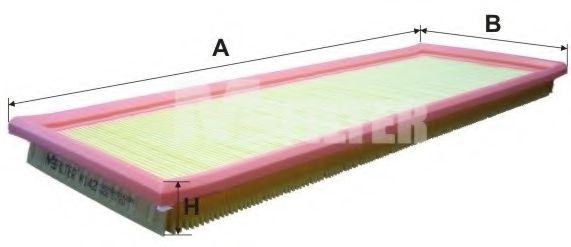 Фильтры прочие Фильтр воздушный FORD ESCORT (пр-во M-filter)  арт. K142