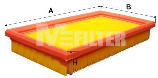 Фильтры прочие Фильтр воздушный OPEL Corsa A (пр-во M-Filter)                                                        арт. K190