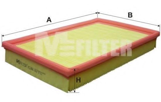Фильтры прочие Фильтр воздушный OPEL VECTRA (пр-во M-filter)  арт. K244