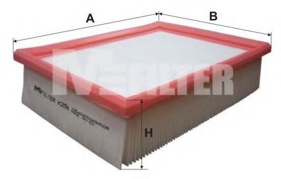 Фильтры прочие Фильтр воздушный OPEL CORSA (пр-во M-filter)  арт. K294