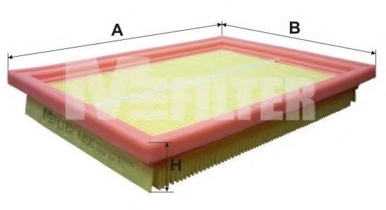 Фильтры прочие Фильтр воздушный HONDA,NISSAN,SUBARU (пр-во M-filter)  арт. K450