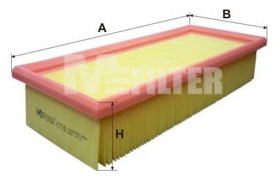 Фильтр воздушный HONDA (пр-во M-Filter)                                                               арт. K731