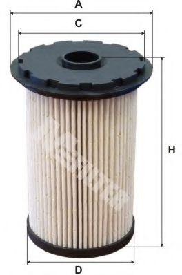 Фильтр топливный FORD C-Max, Focus II, Galaxy II, Mondeo (пр-во M-filter)                             арт. DE3131