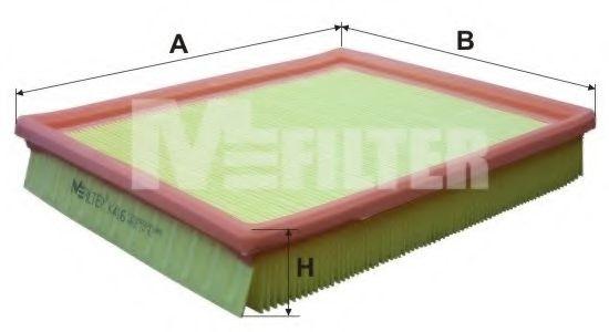 Фильтр воздушный OPEL (пр-во M-filter)                                                                арт. K416