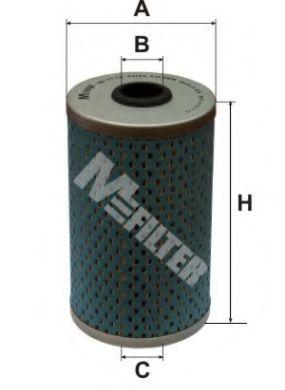 Фильтр топливный MFILTER DE3114
