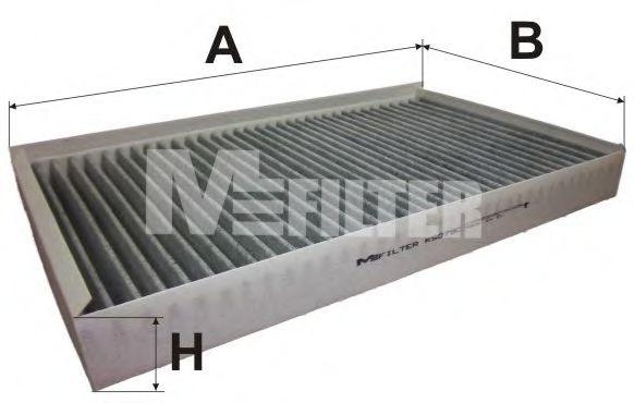 Фильтр салона MERCEDES-BENZ  Vito II (угольный) (пр-во M-Filter)                                     BOSCH арт. K9079C