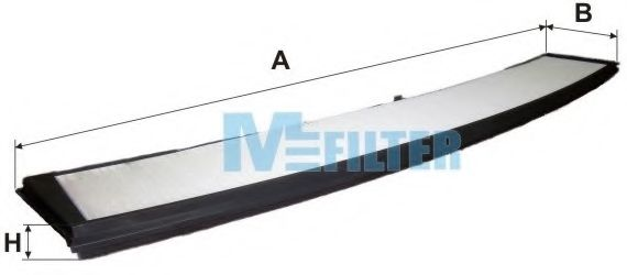 Фильтр салона BMW  3 serie (E46) (пр-во M-Filter)                                                    MFILTER K939