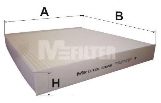 Фильтр воздушный HYUNDAI; KIA (пр-во M-Filter)                                                       MFILTER арт. K9096