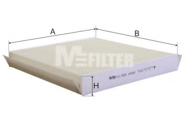 Фильтр салона CITROEN XSARA (пр-во M-filter)                                                         MFILTER K930