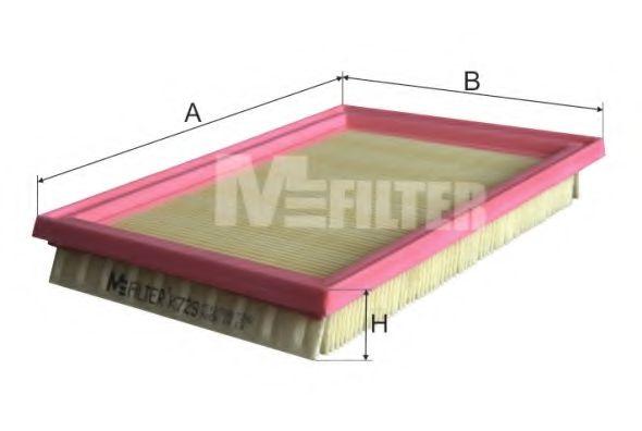 Фильтры прочие Фильтр воздушный FORD (пр-во M-filter)  арт. K729