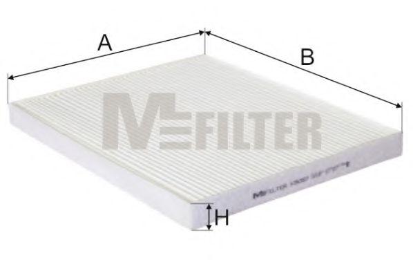 Фильтр салона OPEL Corsa D, FIAT  Fiorino, FIAT Punto III (пр-во M-filter)                            арт. K9057