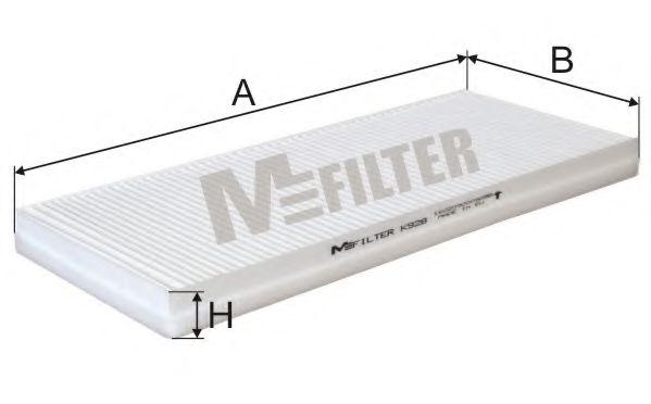 Фильтр салона MFILTER K928