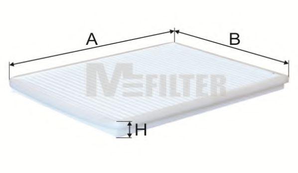 Фильтр салона NISSAN Primera (пр-во M-filter)                                                        MFILTER арт. K934