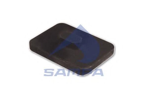 Прокладка рессоры антискрип MB 207-410 SAMPA 011076