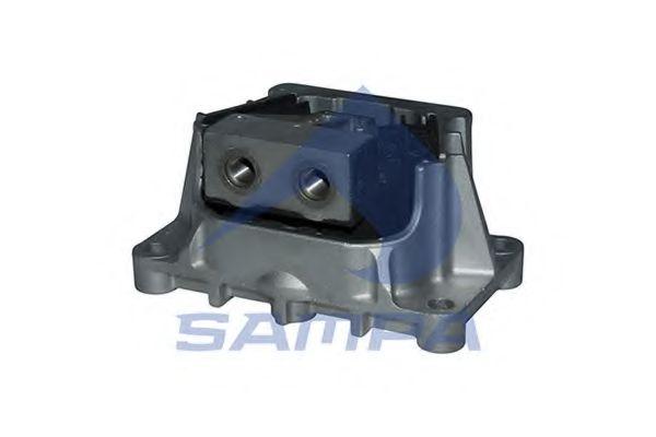 Подушка двигателя MERCEDES M14x1,5/M18x1,5/200x100x50x123,5 SAMPA 011398