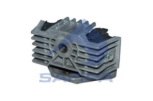 Подушка двигателя MERCEDES M16x1,5/M18x1,5/59x156x88x127 SAMPA 011417