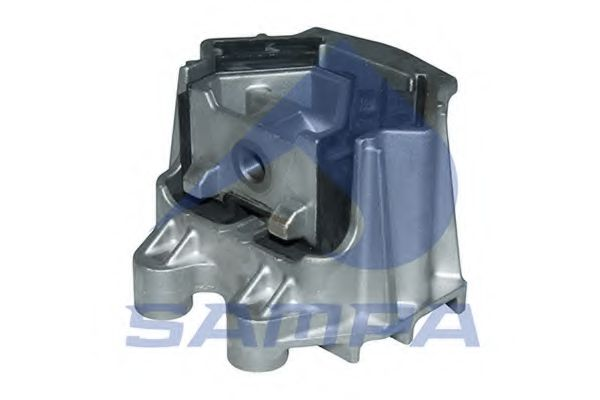 Подушка двигателя MAN M14x1,5/M18x1,5/140x75/126 SAMPA 020419