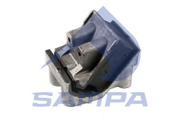 Подушка двигателя DAF 110x162x142 SAMPA 050135