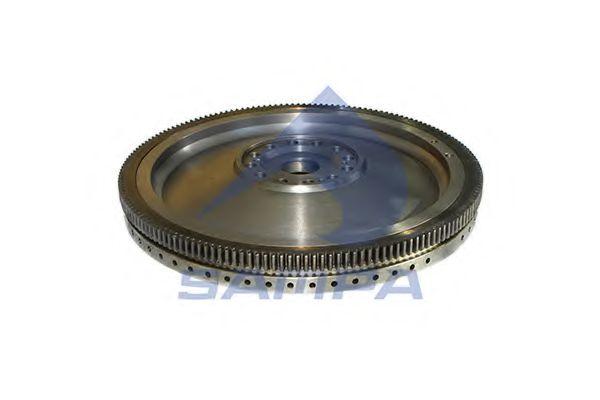 1697674 маховик (D=430мм/XF...) SAMPA 051318